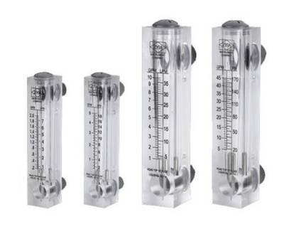 Измерители потока воды (ротаметры) ПАНЕЛЬНОГО типа